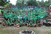 4-H Camp group photo