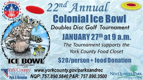 22nd Annual Colonial Ice Bowl