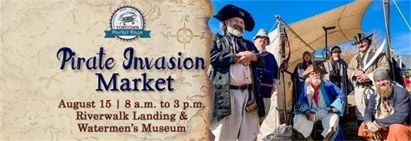 Pirate Invasion Market, August 15