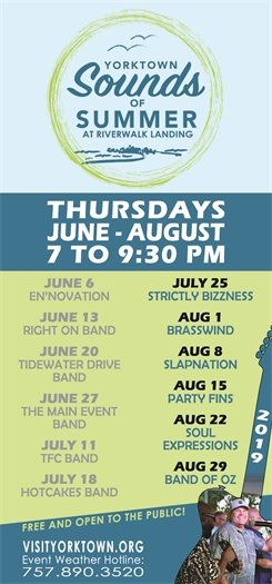 Join us This Thursday, July 25 for the Sounds of Summer concert featuring Strictly Bizzness