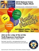 Family Fun Day commemorates National Crime Victims' Rights Week