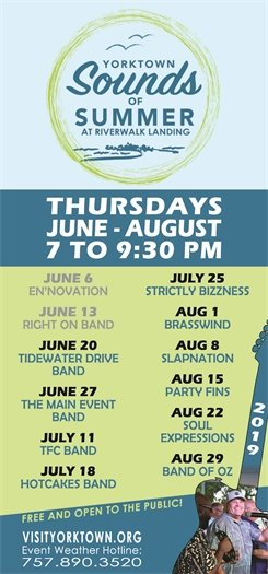 This week's Sounds of Summer Concert on Thursday, June 20 features Tidewater Drive Band