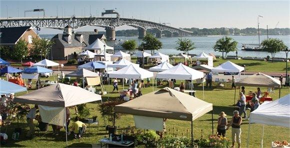 Yorktown Market Days Returns to the Waterfront