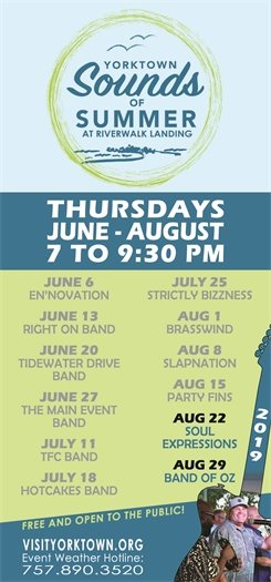 Join us this Thursday, August 22 for the Sounds of Summer concert featuring Soul Expressions