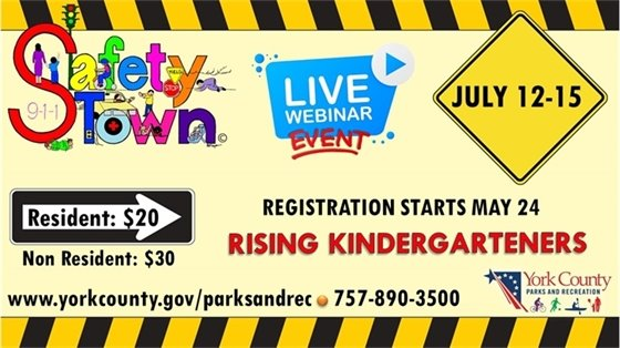 Safety Town - Registration Starts May 24