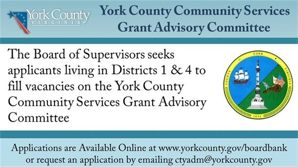 York County Community Services Grant Advisory Committee