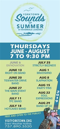 Don't miss this week's Sounds of Summer concert this Thursday, June 13 featuring the Right on Band