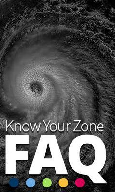 Know Your Zone FAQ