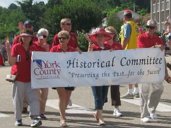 Historical Committee at the 4th of July Parade