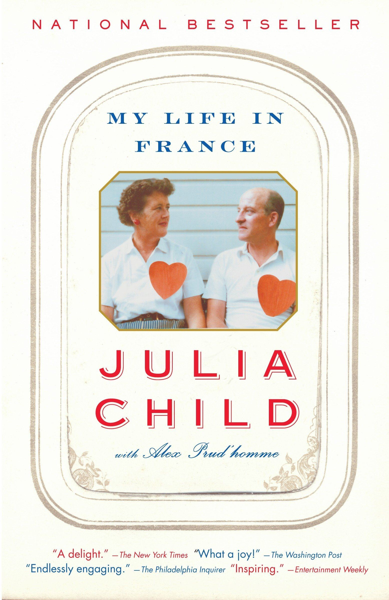 Book cover of My Life in France by Julia Child