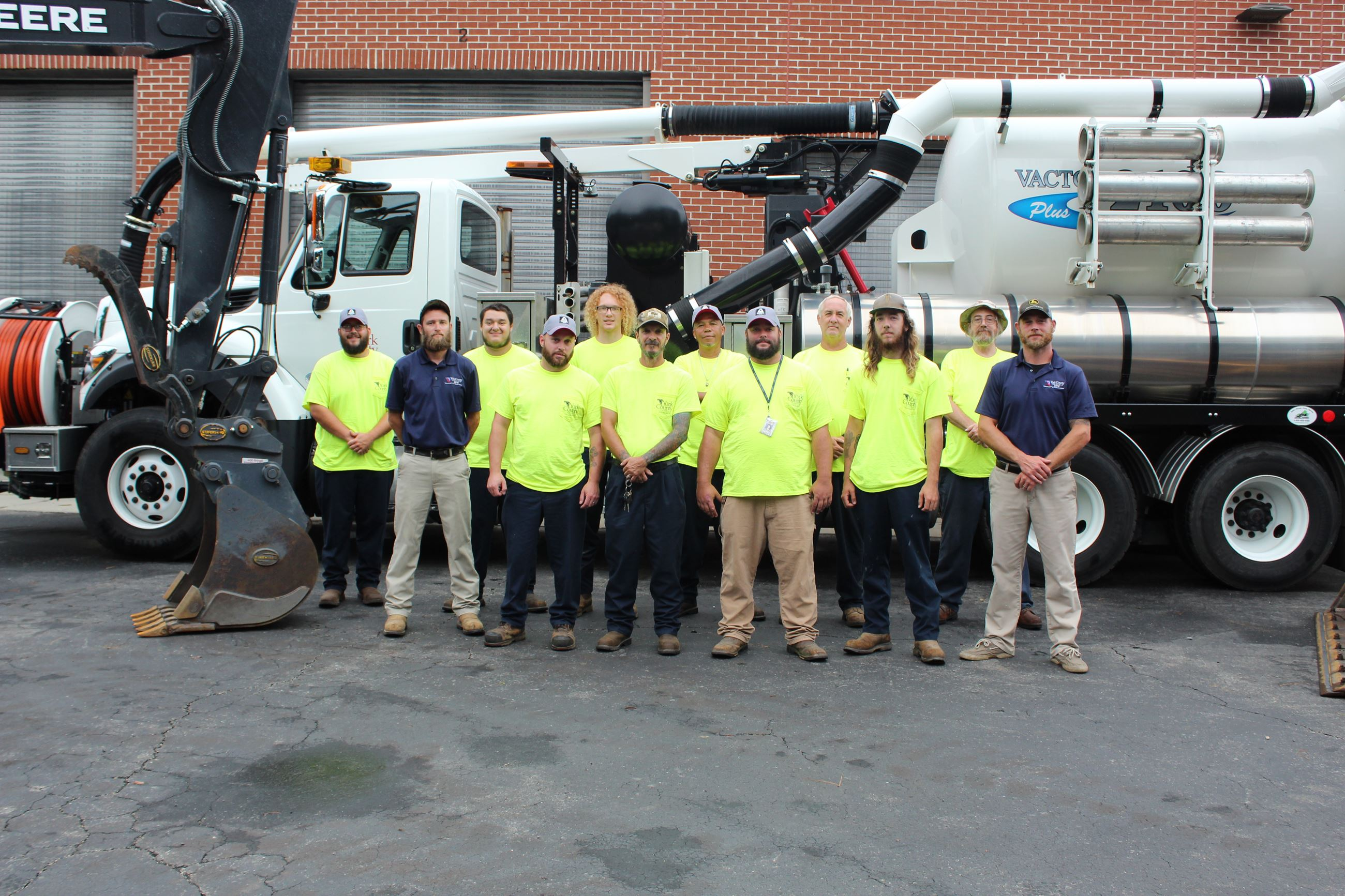 This is a photo of the Utilities Operations crew