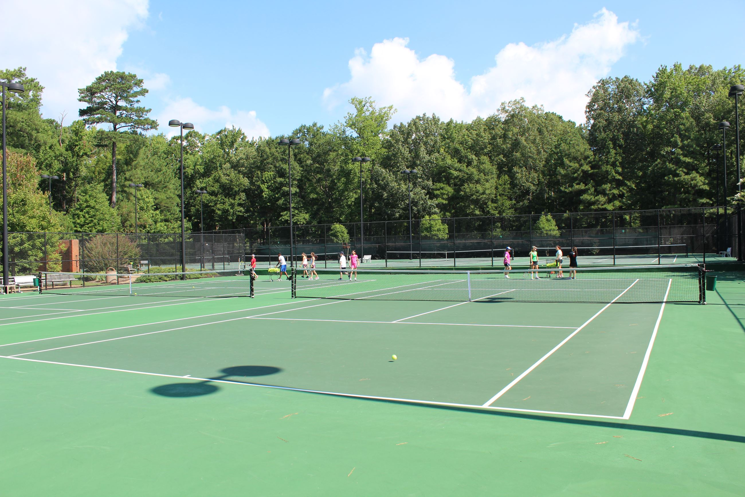 Back Creek Park Tennis Courts