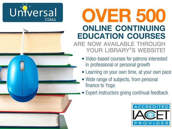 Universal Class offers lifelong learning courses for all ages