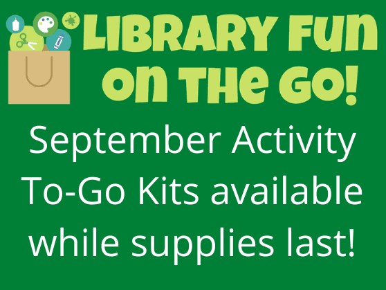 Library offers Activity To Go Kits in September