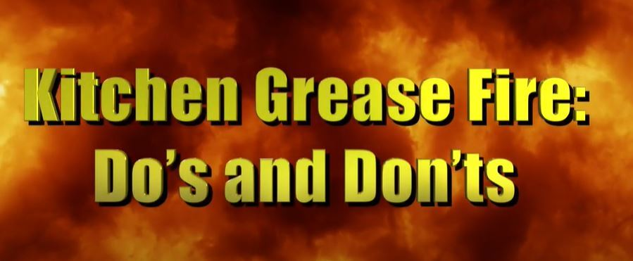Kitchen Grease Fires