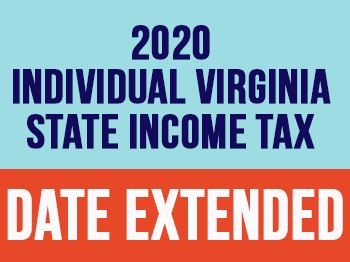 VA Tax Date - Date Extended