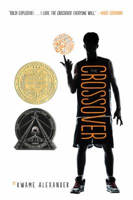 Book cover for The Crossover by Kwame Alexander