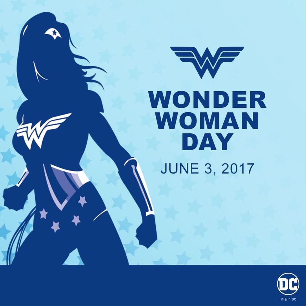 Wonder Woman Day is June 3