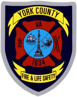 York County Fire and Life Safety Maltese Patch