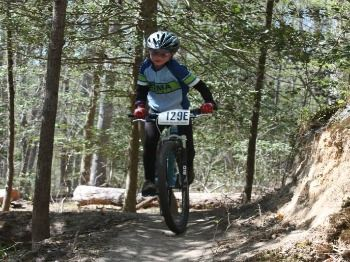 Youth ages 3-18 are invited to race along wooded bike trails on specially designed age group courses