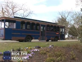 Ride the Trolley in Historic Yorktown