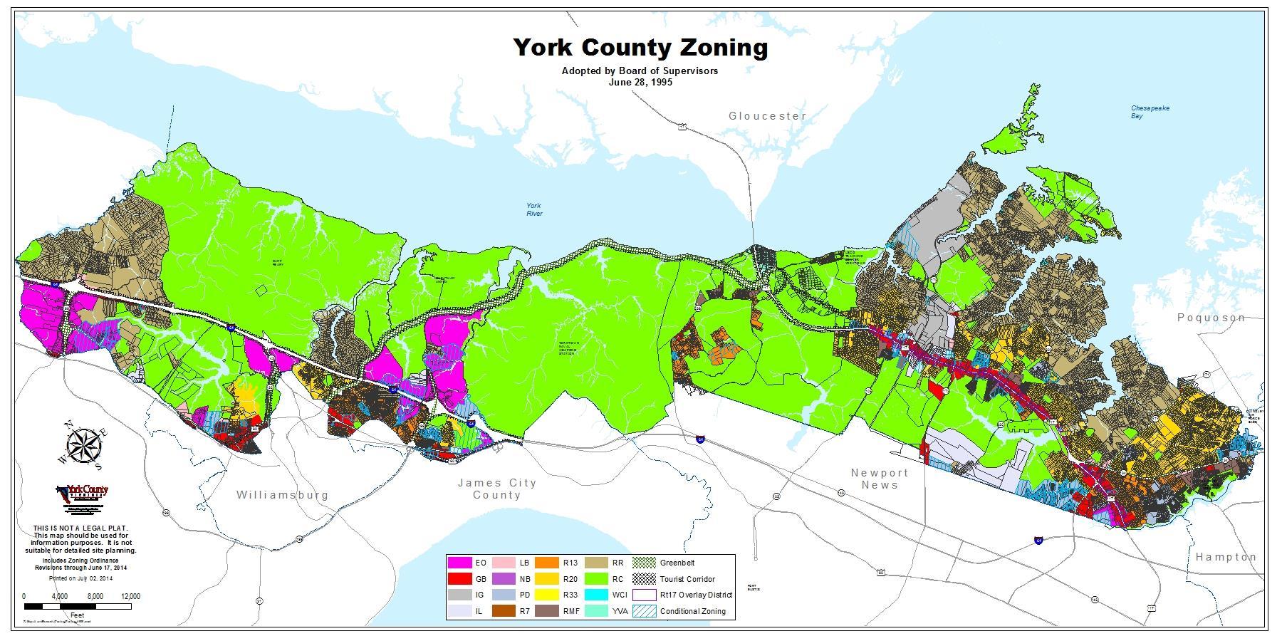 Land Use & Zoning Maps | York County, VA York County Gis Map on county of sacramento california map, county marin san francisco map, gilpin county gis, county of monterey gis,