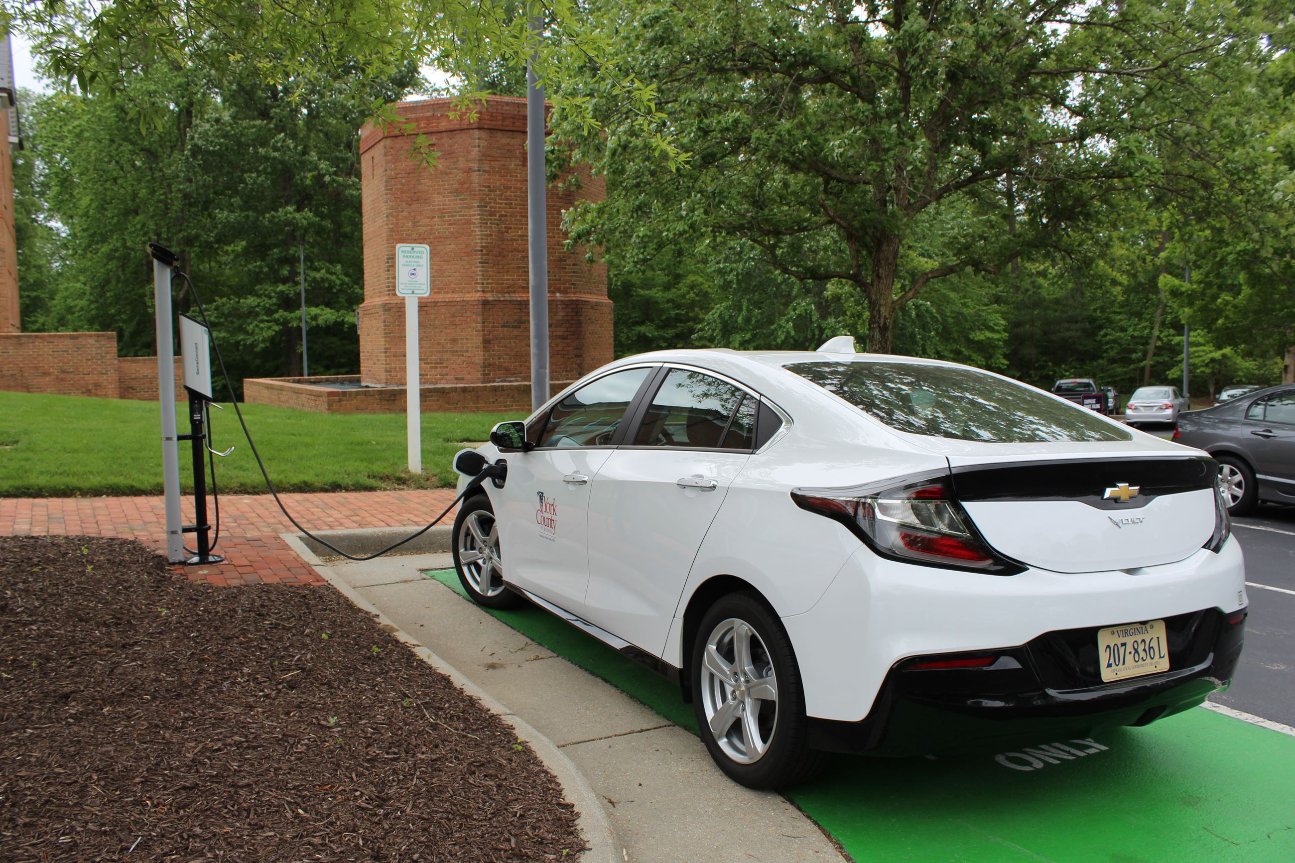 This is an image of a Chevrolet Volt