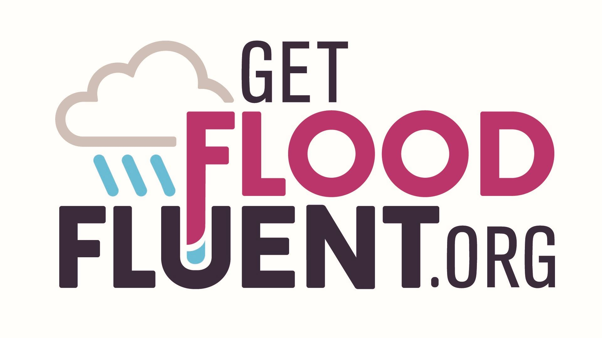 This is an image of the FloodFluent.org logo
