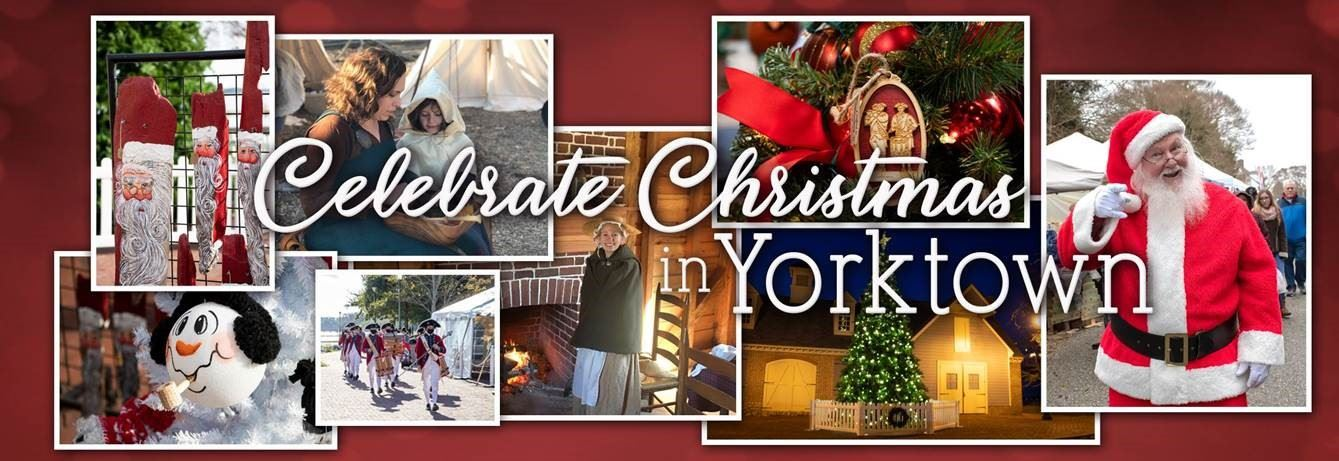Celebrate Christmas in Yorktown Opens in new window