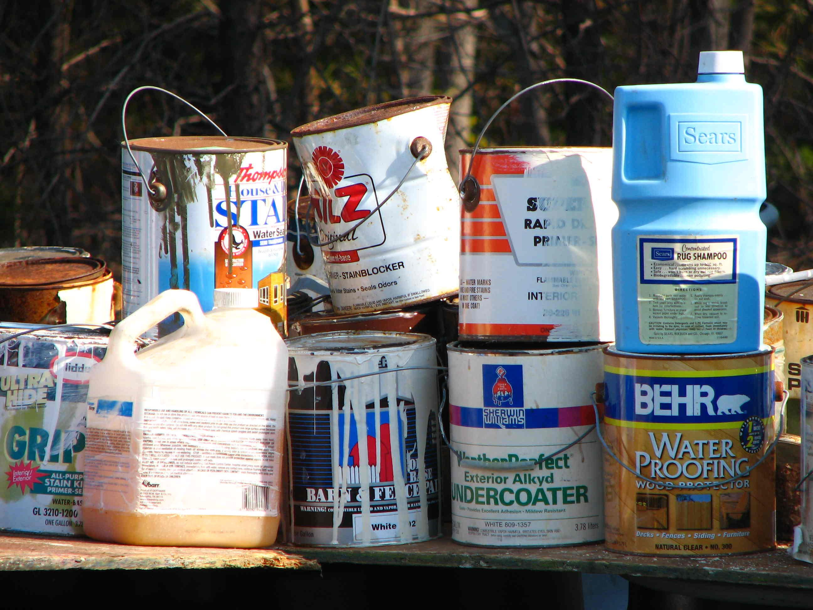 Household Chemical Collection