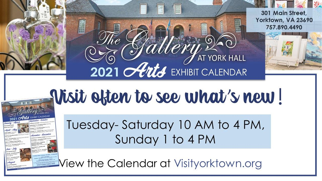 Gallery at York Hall _ April - Dec Hours