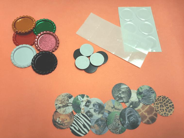 Bottlecapmagnets