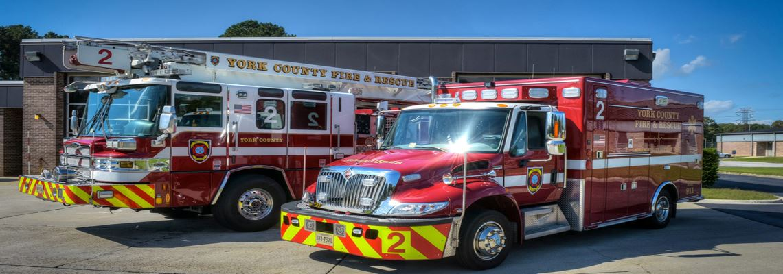 York County Fire Truck and Emergency Medical Truck